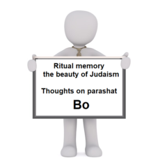 Ritual memory – the beauty of Judaism
